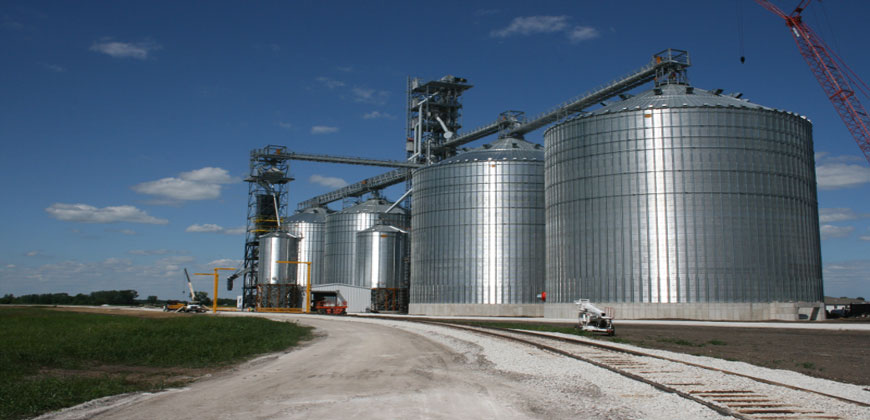 Grain Storage and Buildings
